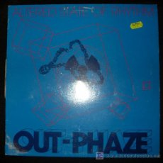 Discos de vinilo: SINGLE DE OUT PHAZE. ALTERED STATE OF RHYTHM.. Lote 16046806