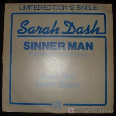 Discos de vinilo: SINGLE DE SARAH DASH. SINNER MAN.. Lote 16046912