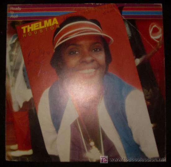 SINGLE DE THELMA HOUSTON. READY TO ROLL. (Música - Discos - Singles Vinilo - Funk, Soul y Black Music)