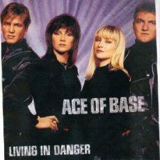 Discos de vinilo: ACE OF BASE. LIVING IN DANGER -- MIX (VINILO-MAXI - 1994). Lote 16050537