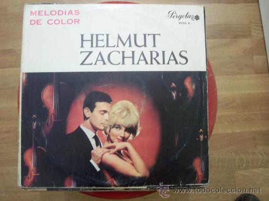 10 PULGADAS - HELMUT ZACHARIAS -PERGOLA (CIRCULO LECTORES) segunda mano