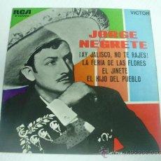 Discos de vinilo: JORGE NEGRETE - (RCA-1.963). Lote 23060123