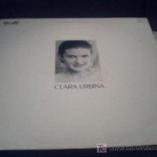 Discos de vinilo: CLARA URBINA - MAXI SINGLE/ESTRELLA FUGAZ ,LA VIDA ES UN TANGO,MAESTRANZA/NOVIE/09. Lote 22917869