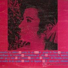 Discos de vinilo: ANTOÑITA MORENO LP SELLO ZAFIRO AÑO 1969. Lote 16101995