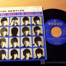 Discos de vinilo: THE BEATLES (QUE NOCHE LA DE AQUEL DIA ) 45 RPM DSOE 16.618 ( EX / EX ). Lote 16115578