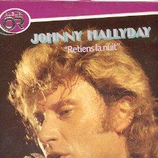 Discos de vinilo: LP CON LIBRETO PÒRTADA DOBLE 33 RPM / JOHNNY HALLYDAY / ALBUM ORO // EDITADO POR PHILIPS . Lote 23741583