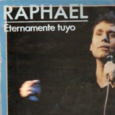 Discos de vinilo: RAPHAEL LP SELLO HISPAVOX AÑO 1984.. Lote 16112646