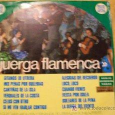 Discos de vinilo: JUERGA FLAMENCA LP. Lote 26956825