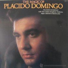 Discos de vinilo: THE MAGIC OF PLACIDO DOMINGO - (LONDON SYMPHONY ORCHESTRA) - EDITADO EN INGLATERRA. Lote 26901585