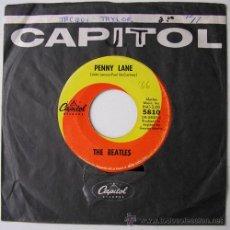 THE BEATLES - PENNY LANE - SINGLE USA CAPITOL
