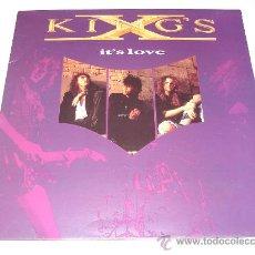 Discos de vinilo: KING'S X / IT´S LOVE - VINILO EP 3 TEMAS DOBLE PORTADA MADE IN UK 1990!!! !!. Lote 23501606