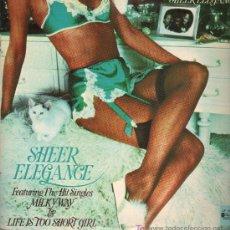 Discos de vinilo: SHEER ELEGANCE - LIFE IS TOO SHORT GIRL - LP 1976. Lote 16170806