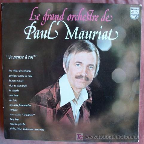 Paul Mauriat Je Pense A Toi