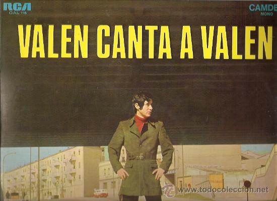 VALEN LP SELLO RCA CAMDEN AÑO 1969 (Música - Discos - LP Vinilo - Solistas Españoles de los 50 y 60)