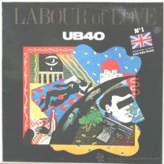 Discos de vinilo: UB40 LABOUR OF LOVE LP DEP INTERNATIONAL 1984. Lote 16196489