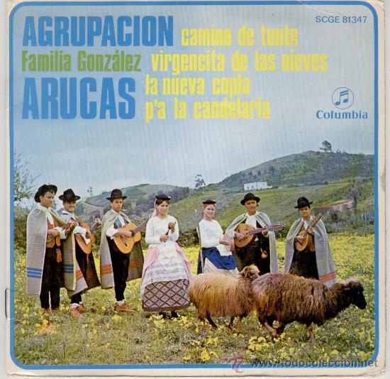 AGRUPACION ARUCAS - FAMILIA GONZALEZ - VER TEMAS EN PORTADA - EP (Música - Discos de Vinilo - EPs - Flamenco, Canción española y Cuplé)