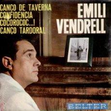 Discos de vinilo: EMILI VENDRELL - EP BELTER - TEMAS EN PORTADA. Lote 27325758