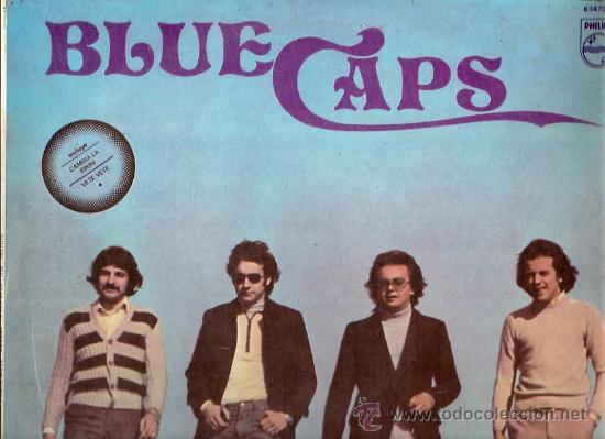 BLUE CAPS LP SELLO PHILIPS EDITADO EN PERU (Música - Discos - LP Vinilo - Grupos Españoles 50 y 60)