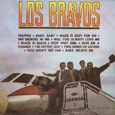 Discos de vinilo: LOS BRAVOS LP SELLO COLUMBIA EDITADO EN PERU. Lote 16204005