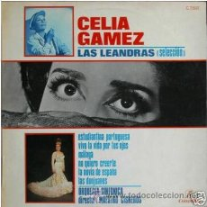 Discos de vinilo: LP MUSICA ESPAÑOLA - COPLA - CELIA GAMEZ -. Lote 27318174