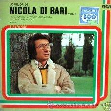 Discos de vinilo: NICOLA DI BARI. Lote 280162423