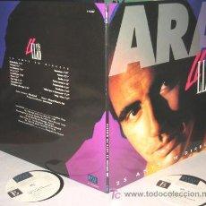 Discos de vinilo: LLUIS LLACH - ARA, 25 ANYS EN DIRECTE - 2 LP - PICAP 1992 SPAIN LETRAS - LIVE - COMO NUEVO / N MINT. Lote 27283566