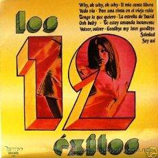 Discos de vinilo: LOS 12 EXITOS. Lote 27471131