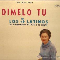 Discos de vinilo: LOS 5 LATINOS LP SELLO COLUMBIA EDITADO EN ARGENTINA.. Lote 16220076