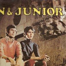 Discos de vinilo: JUAN & JUNIOR LP SELLO BORINQUEN EDICCIÓN AMERICANA.. Lote 16229091