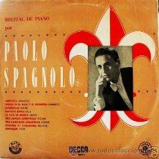 Discos de vinilo: DISCO LP COLECCIÓN PRIMEROS PICK UP - PAOLO ESPAGNOLO. Lote 26149850