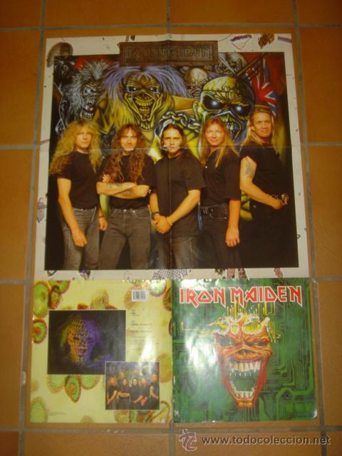 Iron maiden virus vinilo poster gigante comprar discos - Posters de vinilo ...