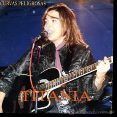 Discos de vinilo: TITANIA - CURVAS PELIGROSAS / TIENES UN DON - EP 1992 - PROMO. Lote 23160312