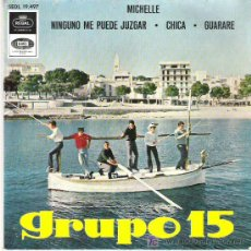 Discos de vinilo: GRUPO 15 - MICHELLE ** THE BEATLES EP REGAL EMI 1966. Lote 19765223
