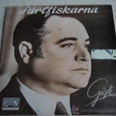 Discos de vinilo: BENIAMINO GIGLI, TENOR ( FEDORA - LA FORZA DEL DESTINO - MANON - I PESCATORI DI PERLE ) EP45. Lote 16260819