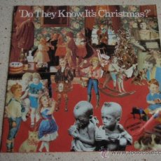 Discos de vinilo: BAND AID ( FEED THE WORLD - DO THEY KNOW IT'S CHRISTMAS?) 'STING,U2,WHAM,PHIL COLLINS,CULTURE CLUB. Lote 191826720