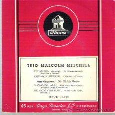 Discos de vinilo: TRIO MALCOLM MITCHELL - ESTAMBUL ** EP ODEON 1957. Lote 19809575