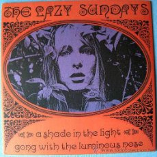 Discos de vinilo: LAZY SUNDAYS - A SHADE IN THE LIGHT / GONG WITH THE LUMINOUS NOSE - (SUBTERFUGE) MOD PSYCH. Lote 180293367