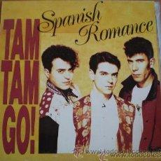 Discos de vinilo: 1 LP--DISCO VINILO---AÑO 1989---TAM TAM GO (SPANISH ROMANCE). Lote 27389891