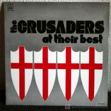 Discos de vinilo: THE CRUSADERS - AT THEIR BEST CRUSADERS LP. Lote 27082804