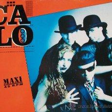 Discos de vinilo: CALO,EL CAPITAN DEL 91 MAXISINGLE. Lote 16292640