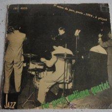Discos de vinilo: THE GERRY MULLIGAN QUARTET ( LOVE ME OR LEAVE ME - LAURA ) 1956 - SWEDEN SINGLE45 JAZZ SELECTION. Lote 16306221