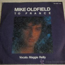 Discos de vinilo: MIKE OLDFIELD ( TO FRANCE - IN THE POOL ) 1984 - GERMANY SINGLE45 VIRGIN RECORDS. Lote 16322607