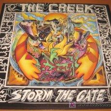 Discos de vinilo: THE CREEK - STORM THE GATE - LP - MUSIC FOR NATIONS 1989 ENGLAND MFN 102 CON LETRAS - N MINT. Lote 26172987