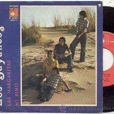 Discos de vinilo: SINGLE 45 RPM / LOS BAYUNOS / LAS MARGARITAS / EDITADO POR BASF. Lote 23606500