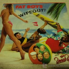 Discos de vinilo: FAT BOYS AND THE BEACH BOYS ( WIPEOUT - CRUSHIN' ) NEW YORK-USA 1987 SINGLE45 URBAN. Lote 17607485