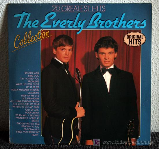 THE EVERLY BROTHERS COLLECTION - 20 GREATEST HITS - LP (Música - Discos - LP Vinilo - Rock & Roll)
