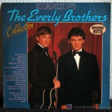 Discos de vinilo: THE EVERLY BROTHERS COLLECTION - 20 GREATEST HITS - LP. Lote 26520011