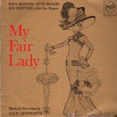 Discos de vinilo: TONY BRITTON / ANNE ROGERS / JON PERTWEE / CLIVE ROGERS - MY FAIR LADY - LP 1965. Lote 16346362