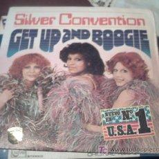 Discos de vinilo: SILVER CONVENTION GET UP AND BOOGIE-SON OF A GUN SINGLE 1976 PEPETO. Lote 179952983