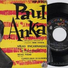 Discos de vinilo: PAUL ANKA EP RED SAILS+3 P/C SPAIN. Lote 26240008